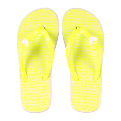 SuperTrash slippers fluo yellow