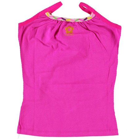 Kidz-Art singlet purple pink plain