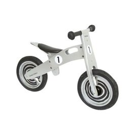 Simply Houten loopfiets Simply Zilver- limited edition