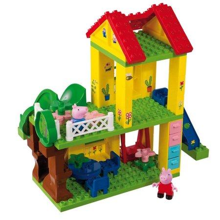 PlayBIG 75-delig Peppa Pig Speelhuis