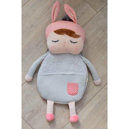 MeToo Angela Doll Rugzak konijn grey