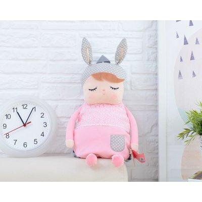 MeToo Angela Doll Rugzak konijn pink