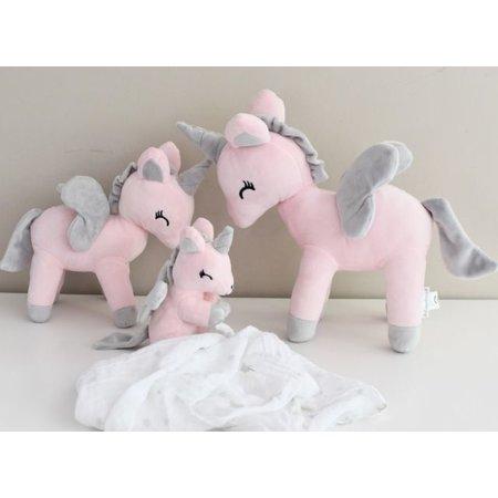 MeToo Metoo Unicorn Eenhoorn knuffel Large wit