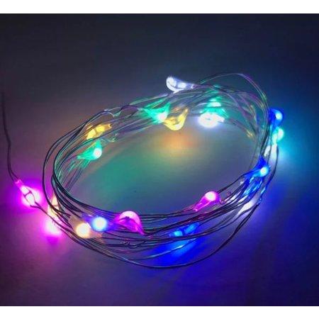 Ibiza hairlights lichtjes voor in je haar