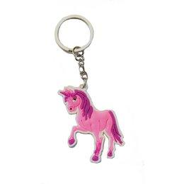 Roze Unicorn sleutelhanger