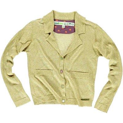 Moodstreet goud cotton lurex vestje