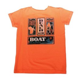 O'Chill boy's shirt Pieter fluo orange