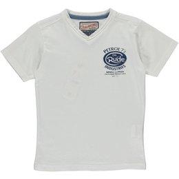 Petrol Industries V-shirt bright white