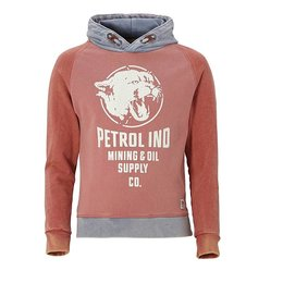 Petrol Industries stoere sweater vintage red Lion