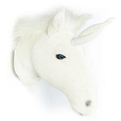 Wild and Soft unicorn eenhoorn kop wit