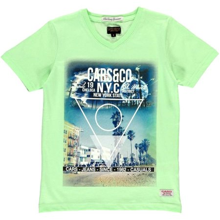 Cars Jeans shirt Primus Tropical green