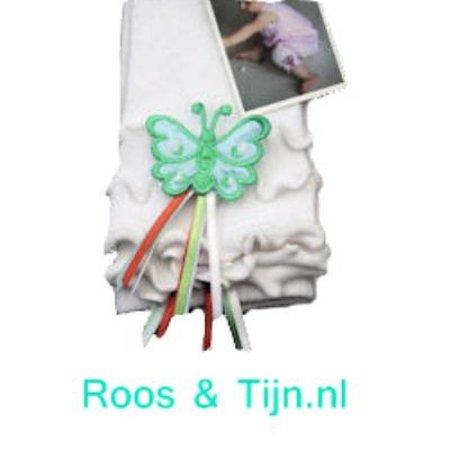 Bonnie Doon Butterfly Baby Legging white