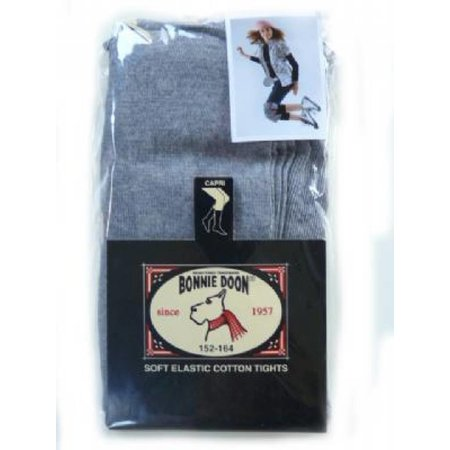 Bonnie Doon chou chou capri legging medium grey