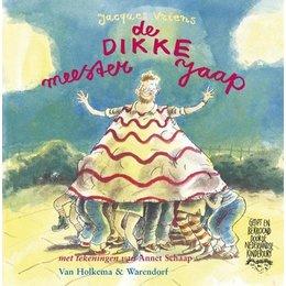 Kinderboek De Dikke Meester Jaap - Jacques Vriens
