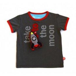 BeeeTU (speel-)shirt Take Me To The Moon incl. speeltje