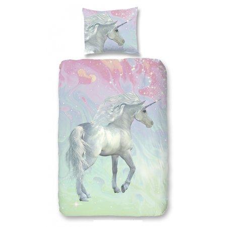 Good Morning  Kinder dekbedovertrek Unicorn Paard