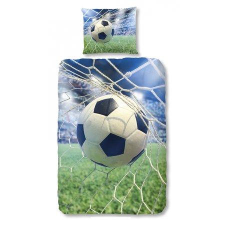 Good Morning  Kinder dekbedovertrek Voetbal