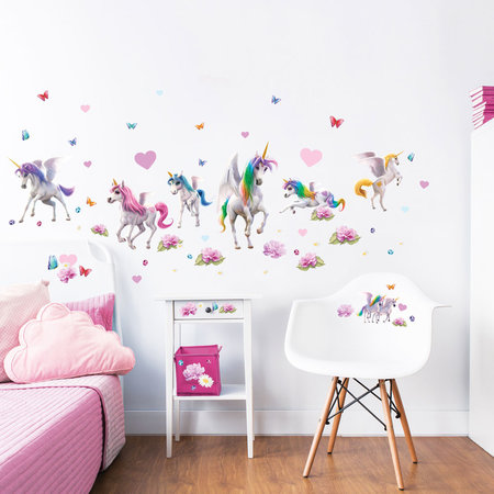 Walltastic Muursticker set Magical Unicorn- 71 delig