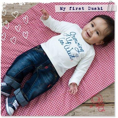Dushi Kraamcadeau in blik met shirtje