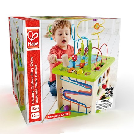 Hape Country Critters Play Cube Activiteitenkubus