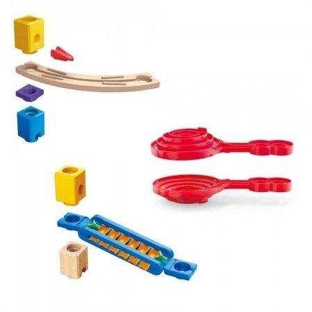 Hape Quadrilla houten knikkerbaan Super Spirals