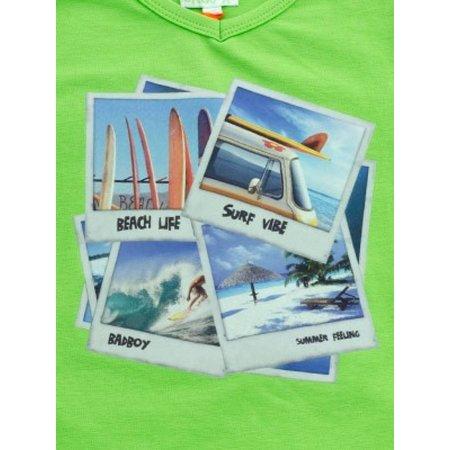 Funky XS shirt Surf dude groen