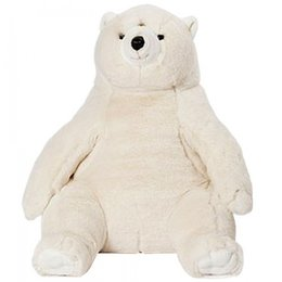 Wild and Soft Superzachte XL ijsbeer knuffel 64 cm