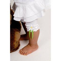 Bonnie Doon daisy capri white