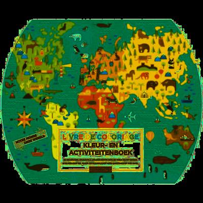 Petit Collage Kleur- en Activiteitenboek Onze Wereld
