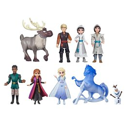 Disney Frozen 2 Dolls Ultimate Collection 9-delig