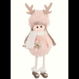ToyToy Kerst Engeltje Pluche roze