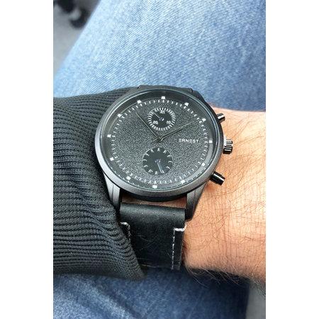 Ernest Heren horloge Benck black