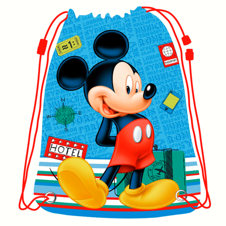 Gymtas/zwemtas Mickey Mouse