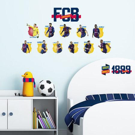Walltastic muurstickers FC Barcelona 11 spelers