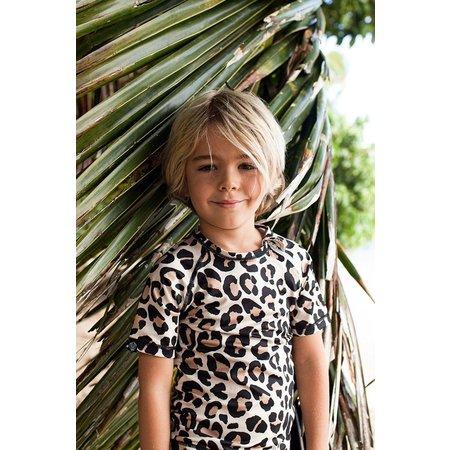Beach & Bandits longsleeve UV zwemshirt Leopard-luipaard