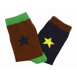 Molo twee paar sokken Nitis hipster green