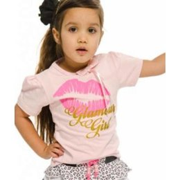 Funky XS shirt Kiss pink