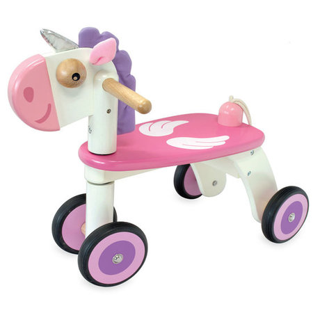Nijntje houten driewieler/loopfietsje Unicorn eenhoorn