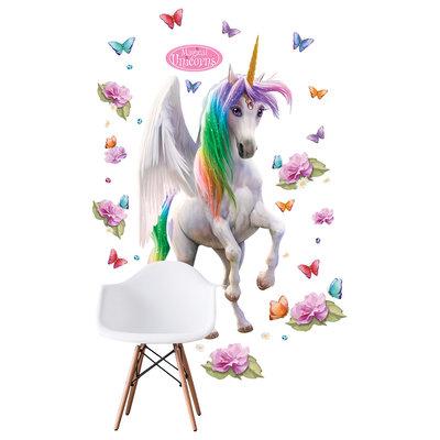 Crearreda XXL Muursticker Magical Unicorn