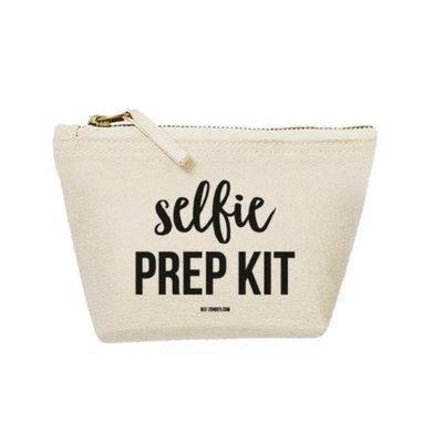 Beezonder Toilettasje Selfie Prep Kit eco cotton