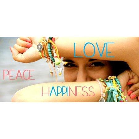 Love Ibiza LOVE IBIZA armband Peace & Love