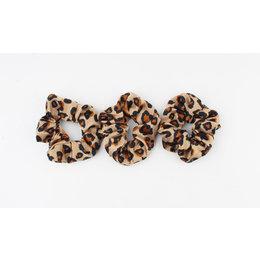 Rafa Scrunchie Leopard brown