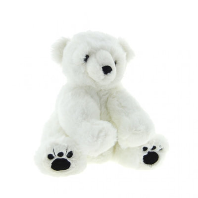 Paradiso Toys Superzachte  ijsbeer knuffel 30 cm
