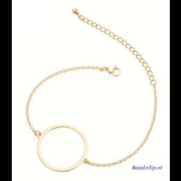 Yehwang Dutch Design Stainless steel armbandje Circle of Love