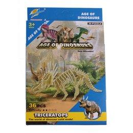 LG Dinosaurus 3D bouwpakket Triceratops