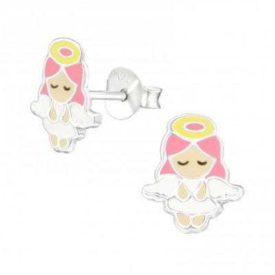 Amore  925 zilveren oorbellen Little Angel