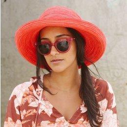 Emthunzini UV dames zonnehoed Sydney rood