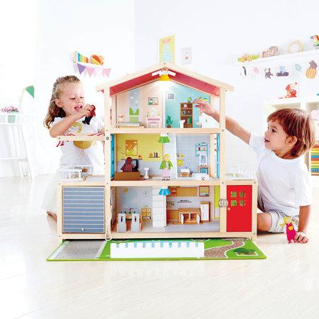 Hape Houten poppenhuis Family Mansion XL