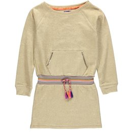 Kidz-Art tuniek jurkje Gold sweat