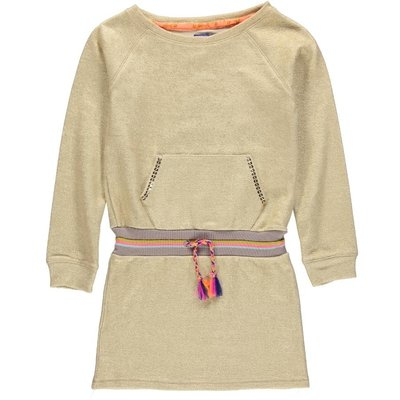 Kidz-Art tuniek jurkje Gold sweat